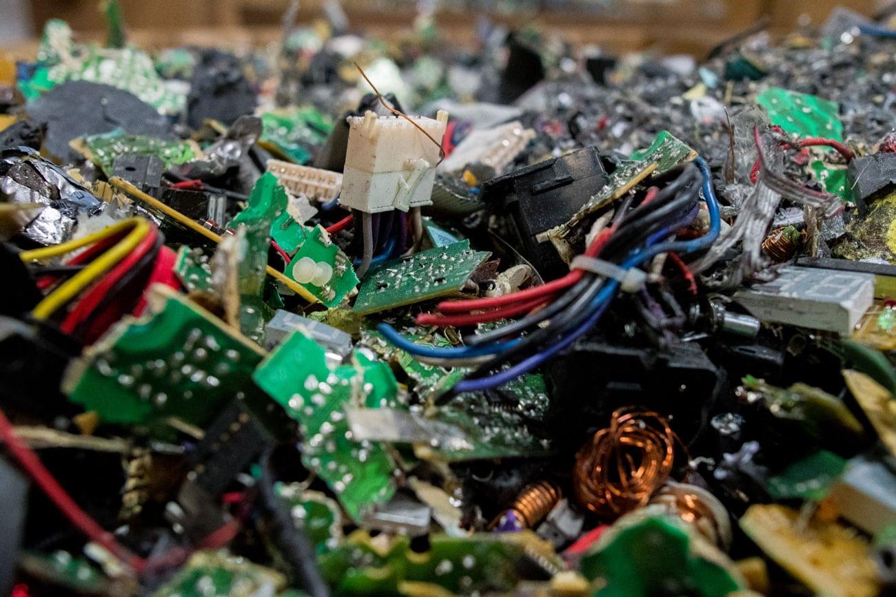 Electronic Recycling Echo Environmental Scrap Circuit Board Machine Computer